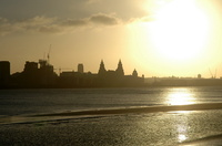 Sunrise over Liverpool