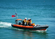 Sandown and Shanklin Inshore Lifeboat B Class Atlantic