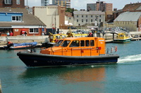 Effseabee Too  Experimental Lifeboat at Poole