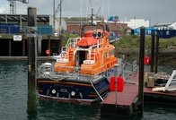 RNLB Richard Cox Scot  17-29 Severn Class at Falmouth