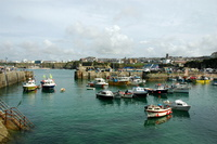 Fishing Boats in Newquay Harbour