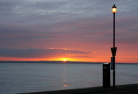Sunrise from West Cowes