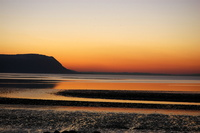 Sunset at Llandudno