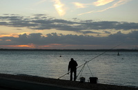 Evening Fishing at West Cowes