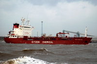 Sichem Copenhagen  IMO 9300776 8448gt Built 2005 Chemical/Oil Products Tanker