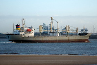 Wealthy Star   IMO 8913356 12453gt Built 1991 General Cargo Ship Flag Panama