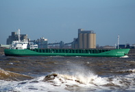Arklow Spirit    IMO 9117959 2271gt Built 1995 General Cargo Ship Flag Ireland