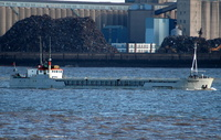 Ben Ellan    IMO 8018936 538gt Built 1981 General Cargo Ship Flag UK