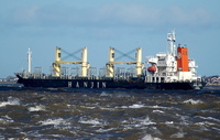 Hanjin Tampa    IMO 9110327 16252gt Built 1995 Bulk Carrier Flag Korea