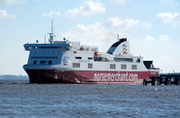 Mersey Viking  IMO 9329851 27700gt Built 2005 Passenger/Ro Ro Cargo Ship Flag UK