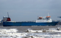 Muirneag  IMO 7725362 5801gt Built 1979 Ro Ro Cargo Ship Flag UK Calmac