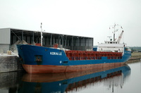 Koralle     IMO 8415201 1851gt Built 1985 General Cargo Ship Flag Antigua Barbuda