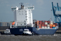 Eilbek IMO 9313199 16324gt Built 2005 Container Ship Flag Germany