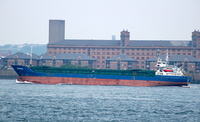 Rheinfels  IMO 9014664 2381gt Built 1991 General Cargo Ship Flag Antigua Barbuda