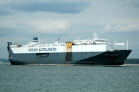 Hoegh Trotter   IMO 8116910 Built 1983 Vehicles Carrier Flag Norway Leif Hoegh & Co Ltd