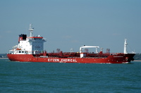 Sichem Edinburgh  IMO 9352066 8545gt Built 2007 Chemical/Oil Products Tanker Flag Singapore