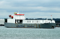 Cymbeline  IMO 9007764 11866gt Built 1992 Ro Ro Cargo Ship Flag Luxembourg