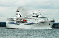 Ocean Majesty IMO 6602898 10417gt Built 1966 Passenger Cruise Ship Flag Maderia Majestic International Cruises Inc
