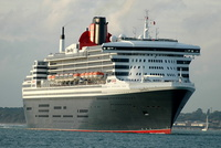 Queen Mary 2  IMO 9241061 148528gt Built 2003 Passenger Cruise Ship Flag UK