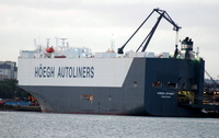 Hoegh Sydney  IMO 9368900 51731gt Built 2007 Vehicles Carrier Flag Japan