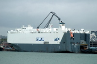 Hual Seoul  IMO 9285495 57280gt Built 2004 Vehicles Carrier Flag Norway