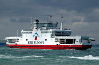 Red Falcon   IMO 9064047 3953gt Built 1994 Southampton to Cowes