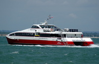 Red Jet 4   IMO 9252278 342gt Built 2003 Southampton to Cowes