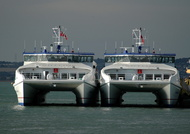 Wight Ryder 1 and Wight Ryder 11 at Portsmouth