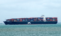 APL Germany     IMO 9288394 66462gt Built 2003 Container Ship Flag Liberia