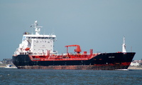 Euro Swan  IMO 8810918 10420gt Built 1991 Chemical /Oil Tanker Flag Denmark