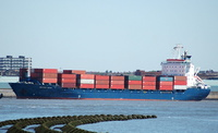 Independent  Venture   IMO 9064762 14849gt Built 1993 Container Ship Flag Liberia