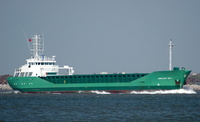 Arklow Sky   IMO 9196266 2316gt Built 2000 General Cargo Ship Flag Netherlands