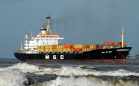 MSC Mee May  IMO 7015274 16670gt Built 1970 Container Ship Flag Panama