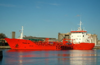 Chemical Tanker Trans Vik at Birkenhead