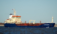 Clipper Barbera   IMO 9327487 2975gt Built 2006 Chemical/Oil Products Tanker Flag Bahamas
