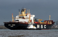 MSC Jeanne   IMO 7814826 33113gt Built 1979 Container Ship Flag Panama