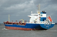 Bro Joinville    IMO 9046071 9039gt Built 1993 Chemical/Oil Products Tanker Flag Sweden