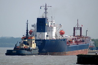 Severn Fisher   IMO 8116611 6892gt Built 1983 Oil Products Tanker Flag Gibraltar