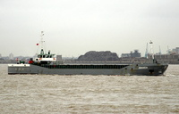 Amanda IMO 8104565 1441gt Built 1981 General Cargo Ship Flag Denmark