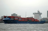 Independent Pursuit IMO 9306067 15487gt Built 2005 Container Ship Flag Liberia