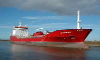 Alaattin Bey  IMO 9347748 7257gt Built 2005 Chemical/Oil Products Tanker Flag Turkey