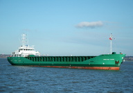 Arklow Sand   IMO 9163611 2316gt Built 1998 General Cargo Ship Flag Netherlands