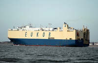 Asian Grace   IMO 9122930 55680gt Built 1996 Vehicles Carrier Flag Korea