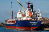 Galway Fisher  IMO 9118161 3368gt Built 1997 Oil Products Tanker Flag UK 9th March 2008