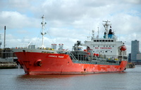 Chemical Trader  IMO 9326213 5383gt Built 2005 Chemical/Oil Tanker Flag Panama 17th April 2007