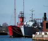 Bar Lightship & HMS Bronington