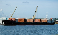Volga 35   IMO 9133197 4955gt Built 1995 General Cargo Ship Flag Russia