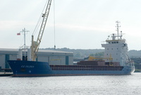A B Valencia   IMO 9125695 2844gt Built 1997 General Cargo Ship Flag Antigua Barbuda