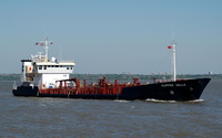 Clipper Helle  IMO 8820298 1716gt Built 1991 Chemical Tanker Flag Denmark