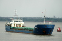 Alikber   IMO 9103817 1484gt Built 1994 General Cargo Ship Flag Russia
